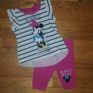 Other - Baby girls minnie outfit